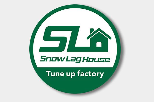 耐水性特殊シール(Snow Lag House様)