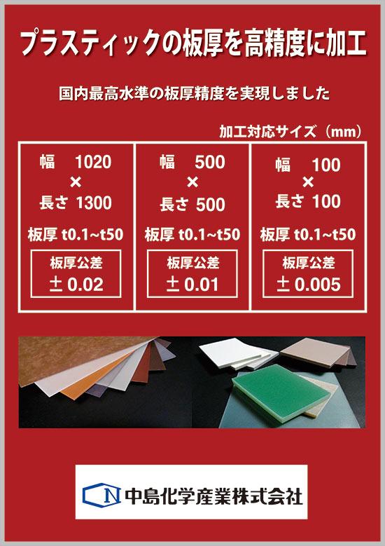 中島化学産業様のパネル3種完成しました。