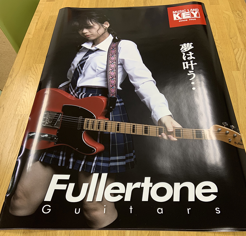 ツバサギター様のフォトポスターができました。